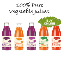 organic vegetable juices