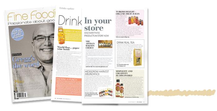 Fine foodies Magazine Article